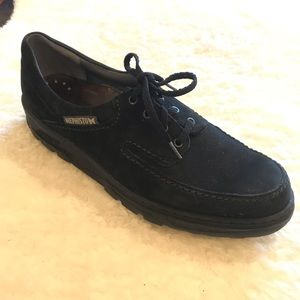 Mephisto City Hiker Suede Black Shoes 10